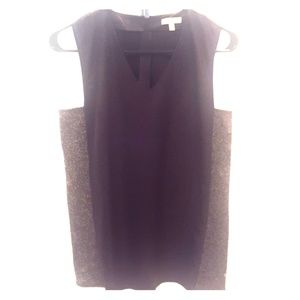 CKJ faux leather tank
